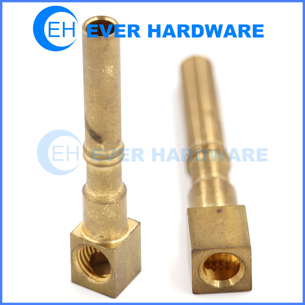 Copper Nuts And Bolts Machine Components Alloy Parts Manufacturer