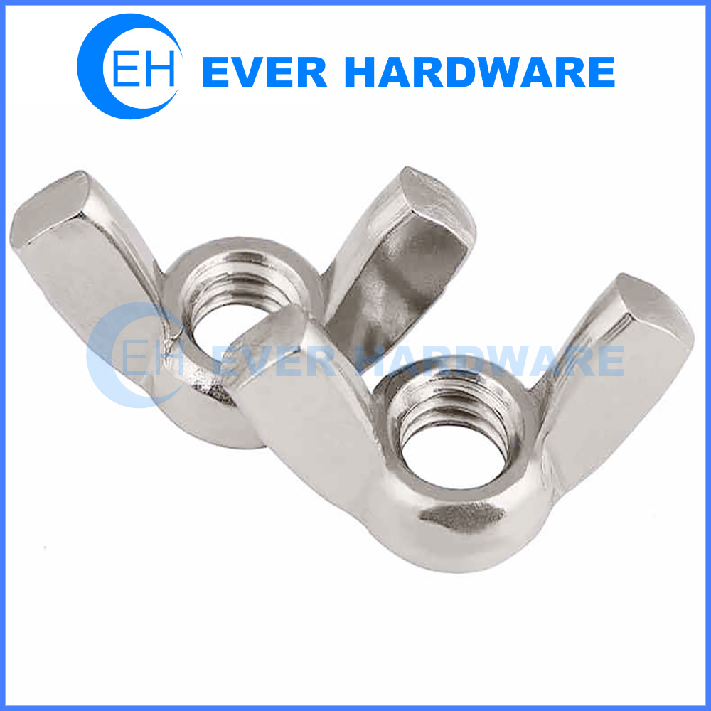 M12 Nut Wing Truss Clamps Stainless Steel Light Duty Handle Butterfly