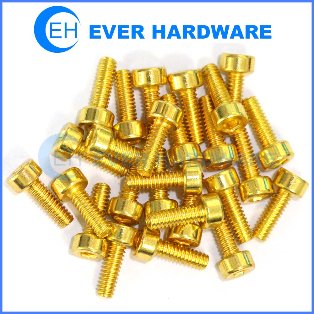 M2 Screw Cylinder Hexagon Allen Sockethead Fasteners & Connectors