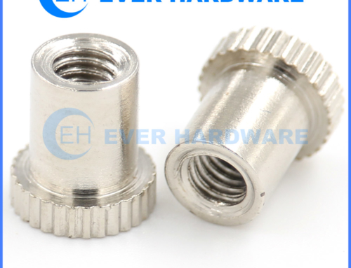 M5 Sleeve Nut Knurling Flat Head Rivet Nuts Blind Capnut Stainless
