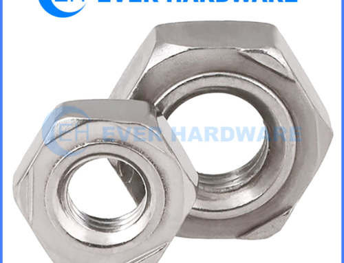 Metric Weld Nuts Projection Hex Stainless Steel Deep Collar Welding