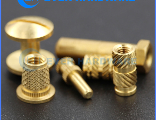 Micro Precision Fasteners Machining Components Turned Knurled Parts