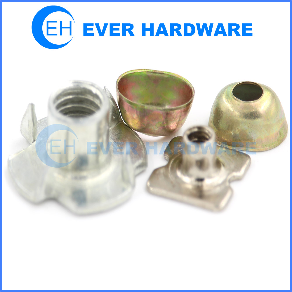 Nut And Washer Four Pronged Nuts Cup Washers Custom Made Fastener