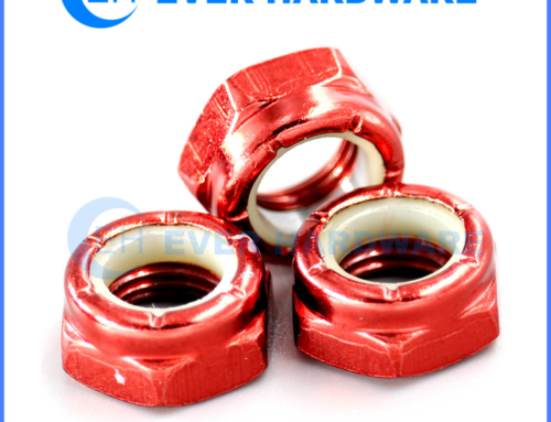 Nylon Insert Lock Nut Manufacturers Metric Imperial Hex Color Custom