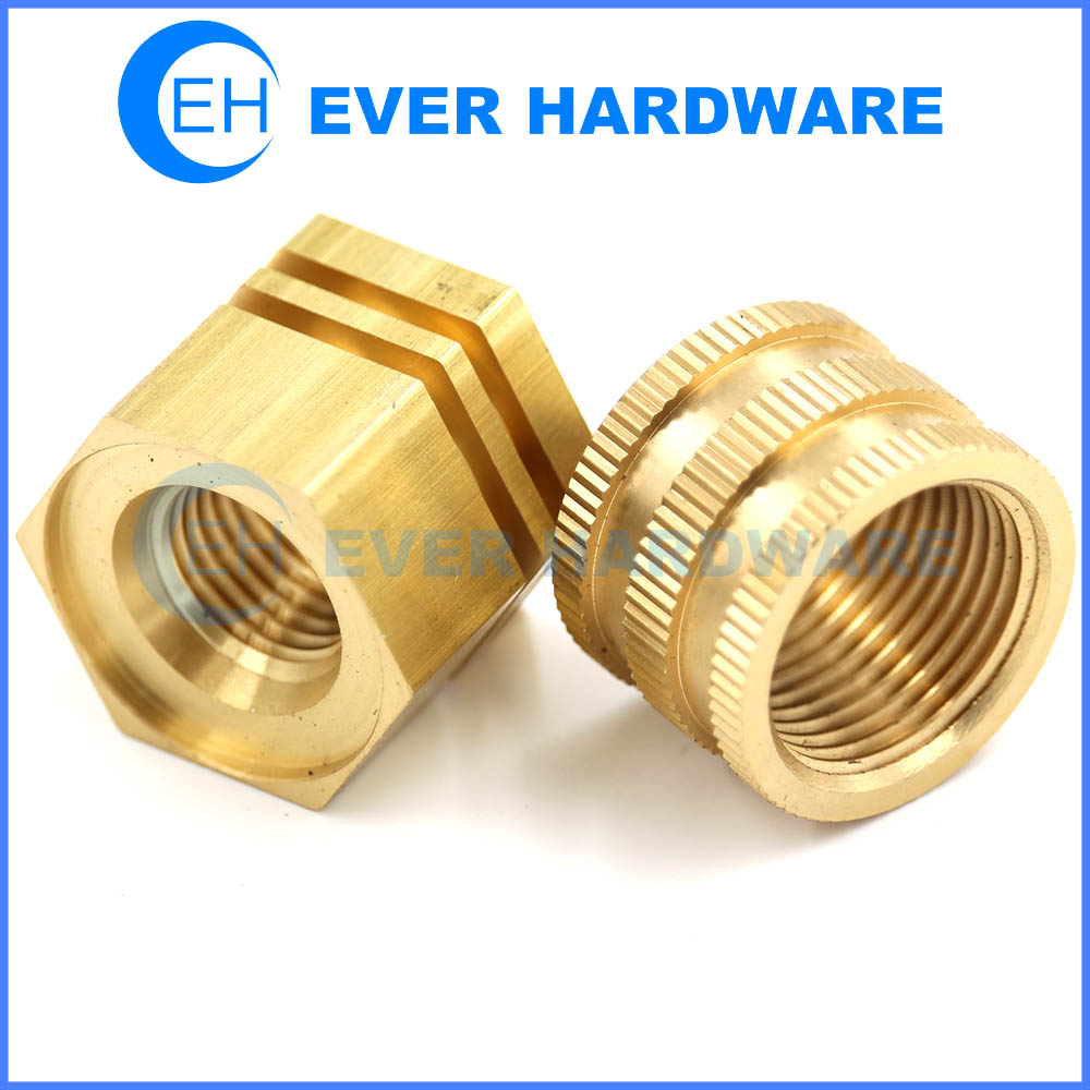 Rail Nut Barrel Brass Ring Hex Receiver Locking Outer Kit Customize