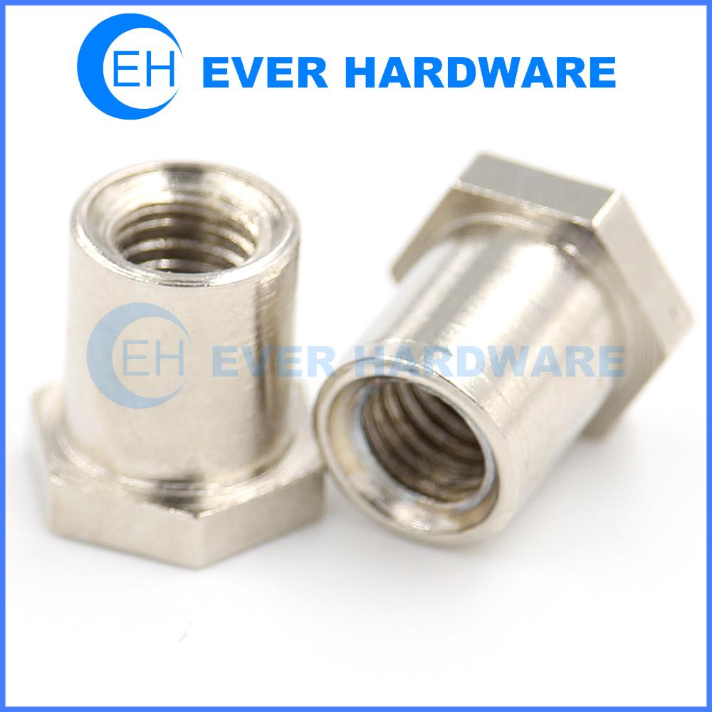 Rivnut Metric Steel Flat Chrome Coating Rivet Blind Fasteners Custom