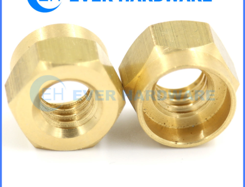 SAE Nuts Brass Hex Top Lock Forged Locking Flare Fitting Fasteners