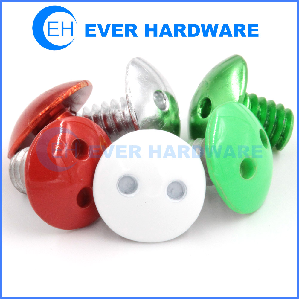 Screw Spanner Drilled Machine Fasteners Truss Head Custom Colored