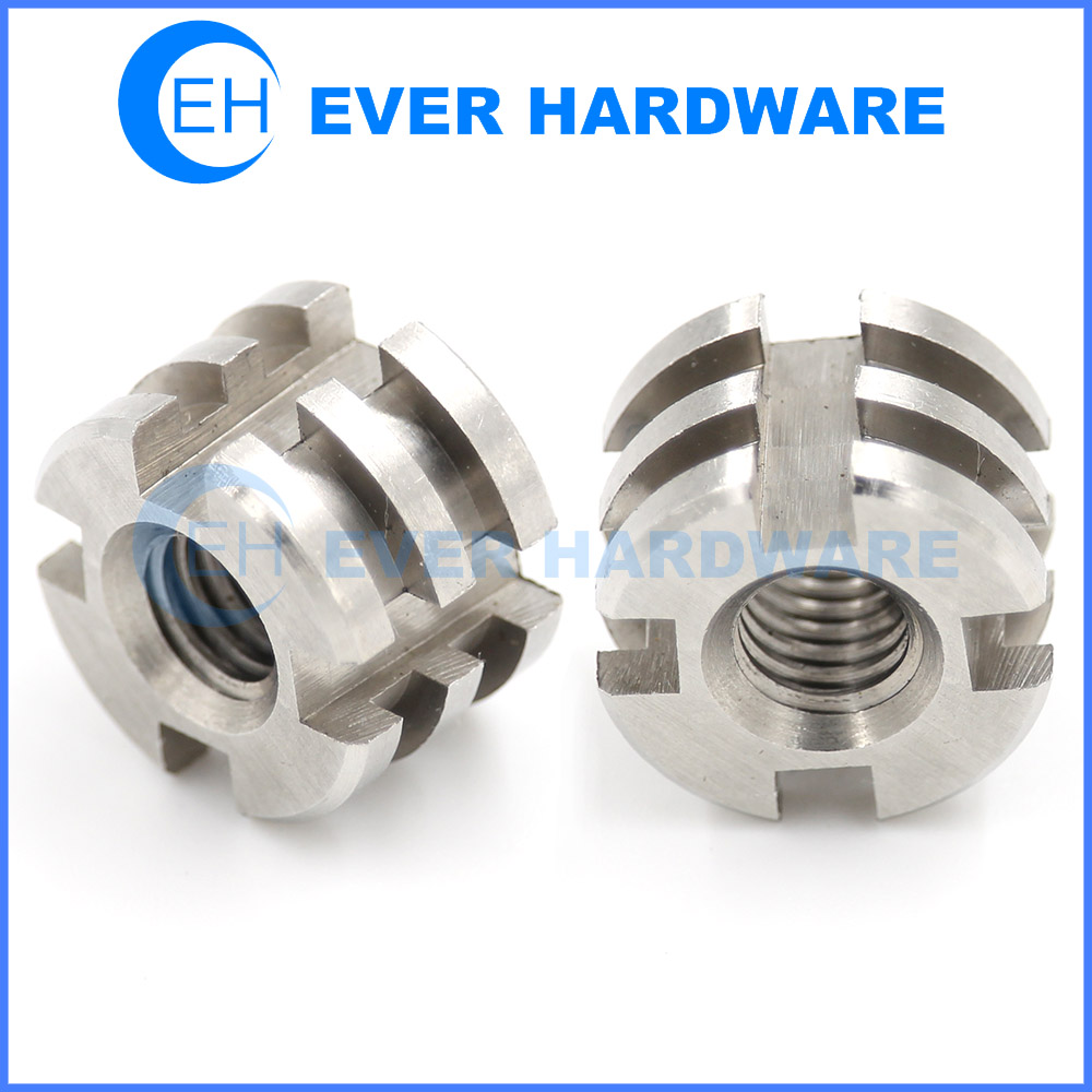 Slotted Lock Nut Tooth Round Stainless Steel Shaft Bearing Ring Nuts