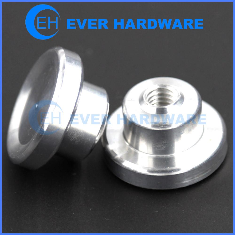 Special Lock Nuts Custom Aluminum Internal Threaded Application Nut