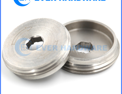 Specialized Nuts Quick Flange Nut Column Custom Components Supplier