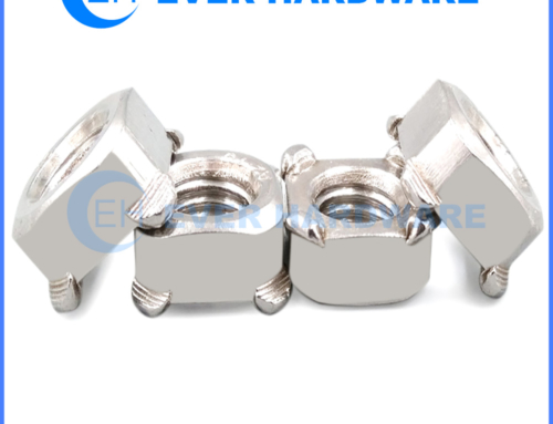 Spot Weld Nuts Stainless Steel Quartet Specials Welding Fasteners