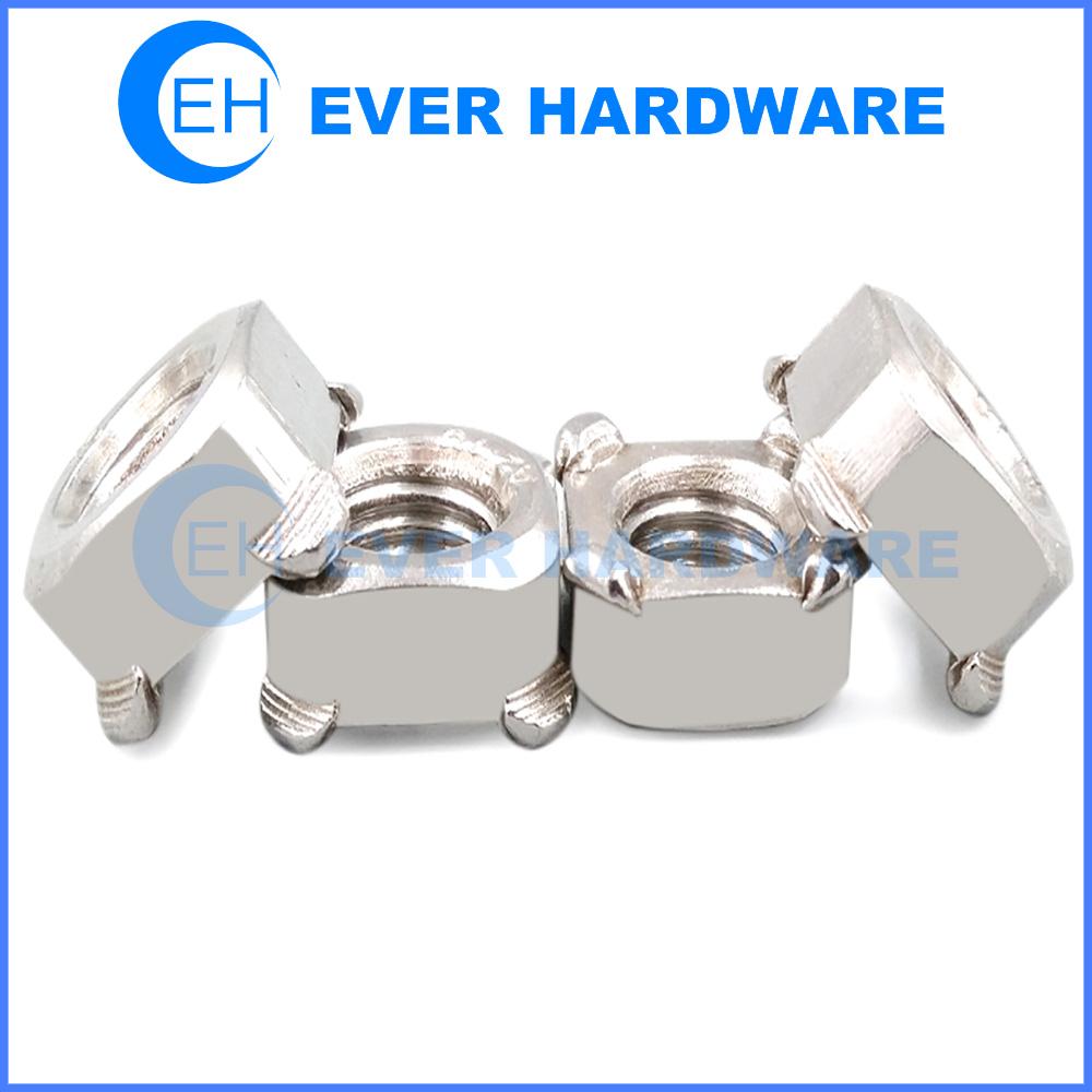 Spot Weld Nuts Stainless Steel Quartet Specials Welding Fasteners