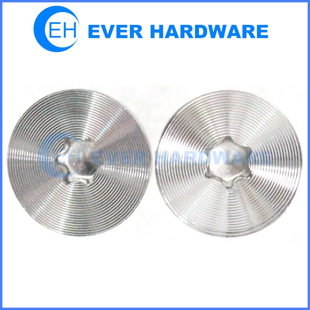 Star Shaped Screw CD Pattern Head Texture Flat 6 Prong Lobe Fastener