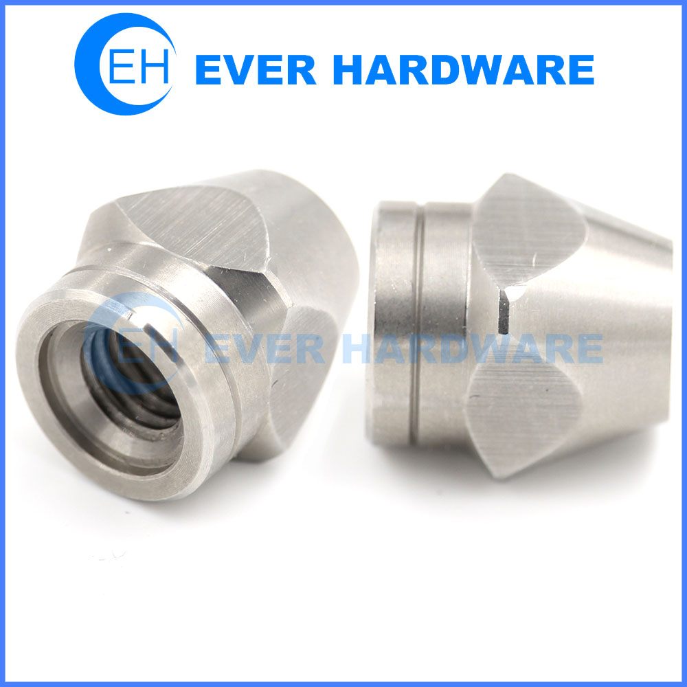 Torque Nut Prevailing Dome Locknuts Precision Stainless Rit Fastener