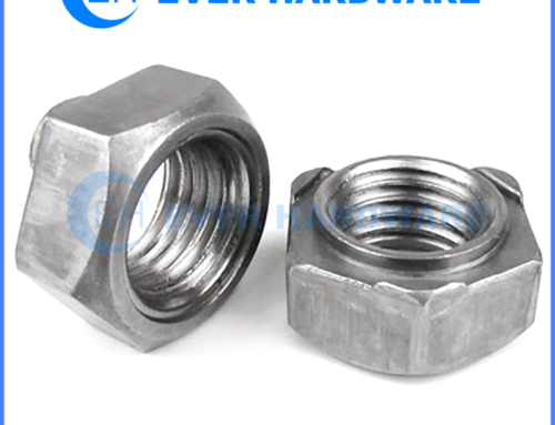 Weldable Nuts Hexagon Stainless Steel Welded Spot DIN929 Metric Size