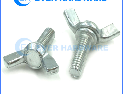 Wingbolt Butterfly Wing Screws Stainless Steel Pin Hand Bolts Supplier