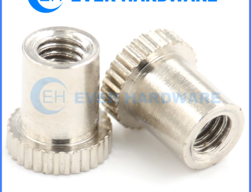 Machine Nuts Special Locknuts Knurled Stainless Steel T Shaped Nut