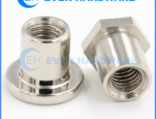 Shoulder Nut Ladder T Stainless Steel Round Hex Sleeve Special Nuts