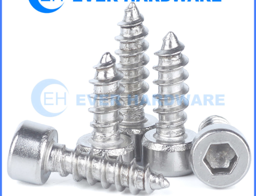 Speaker Mounting Bolts Stainless Steel Hex Cap Head Tapping Screw