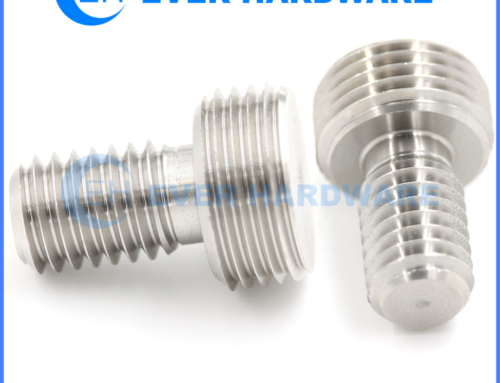 Specialty Bolts And Fasteners Precision Custom Male Double Thread Bolt