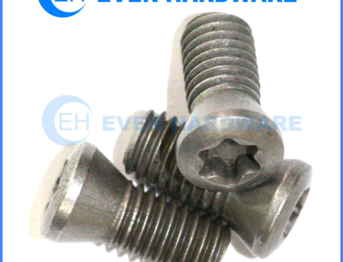 Torx Machine Screws Six Lobe Raising Head Hardened Steel Black Coat