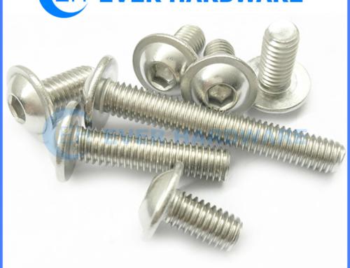Button Head Machine Screws Stainless Steel 304 Allen Key Socket M3 M4
