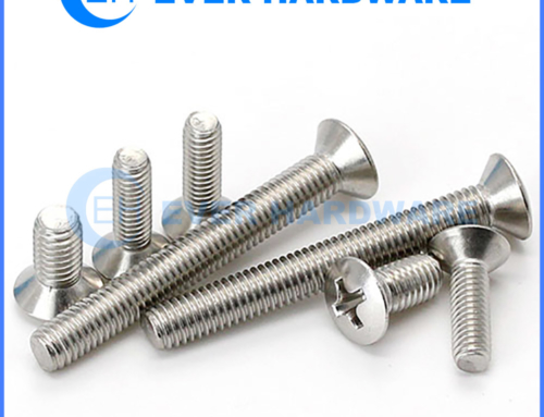 Countersunk Machine Bolts Stainless Steel Cross Recessed A2 18-8