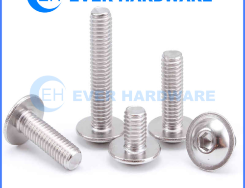Machine Screw Bolt Round Washer Hex Socket Head SS304 Allen